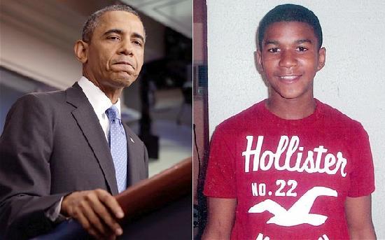 obama & trayvon