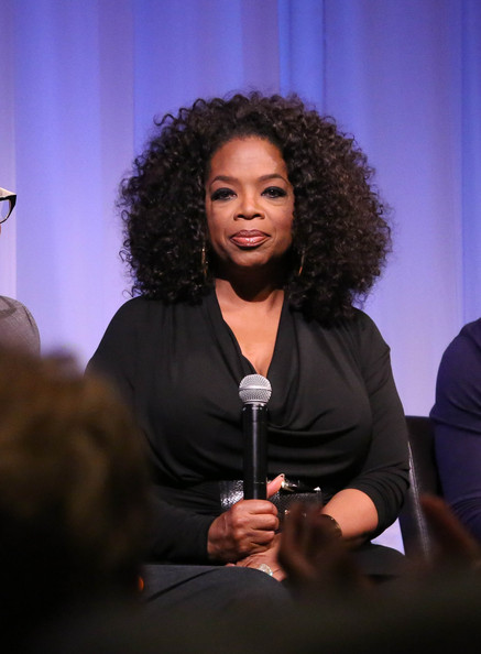 "Oprah Winfrey attends The Academy of Motion Picture Arts and Sciences hosts an official Academy member screening of Lee Daniels' ""The Butler"" at The Academy Theater, at Lighthouse International on August 6, 2013 in New York City"