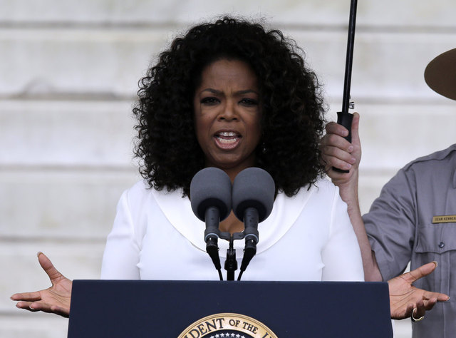 oprah at march