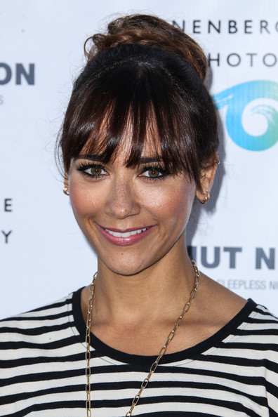 Rashida Jones attends The Annenberg Space for Photography: Helmut Newton Exhibition Opening Night in Los Angeles. (June 27, 2013)