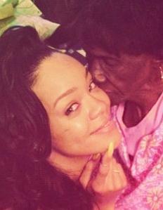 rihanna & late grandmother