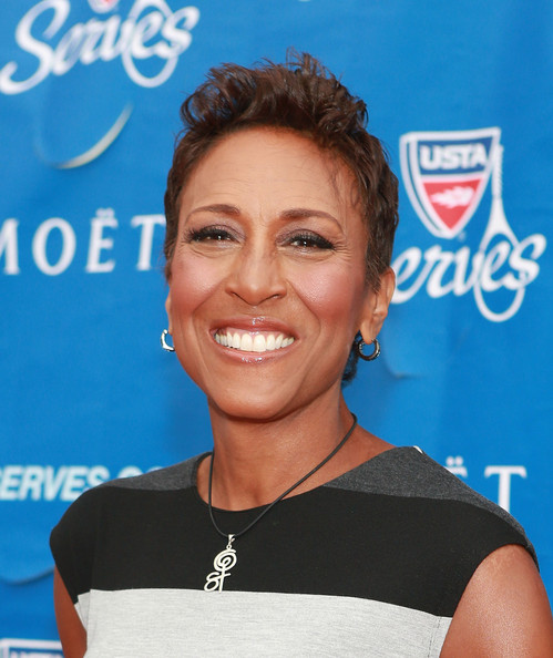 Robin Roberts attends the 13th Annual USTA Serves Opening Night Gala at USTA Billie Jean King National Tennis Center on August 26, 2013 in New York City