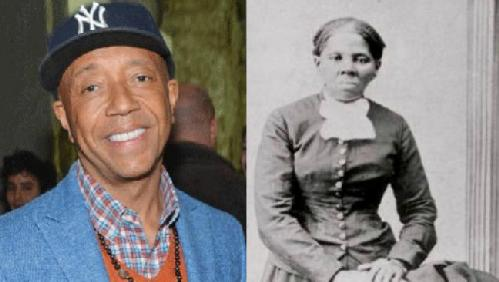 russell simmons & harriet tubman