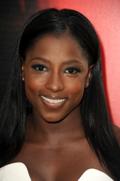 Actress Rutina Wesley attends the premiere of HBO's 'True Blood' at ArcLight Cinemas Cinerama Dome on June 11, 2013 in Hollywood