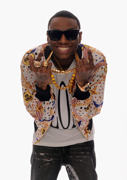 Rapper Soulja Boy poses for a portrait in the TV Guide Portrait Studio at the 3rd Annual Streamy Awards at Hollywood Palladium on February 17, 2013 in Hollywood