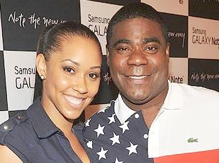tracy morgan & fiancée megan wollover
