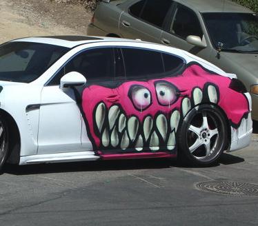 tran car monsters