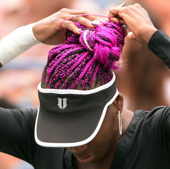 venus williams purple