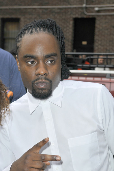 Wale seen at the David Letterman Show in New York City. (June 26, 2013)
