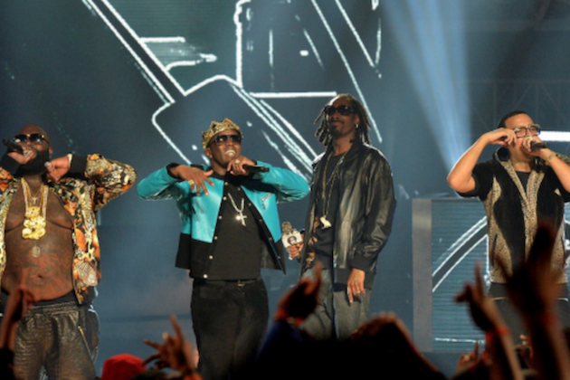 2013 bet hip hop awards (rozay-diddy-snoop-french