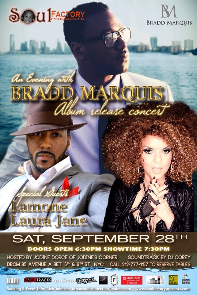 Bradd Marquis Album Release Party at DROM