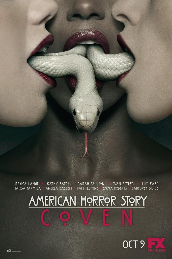 "New cover art for FX's ""American Horror Story: Coven,"" released Sept. 3, 2013"