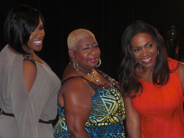 (From left) Kelly Price,  Sheryl Lee Ralph