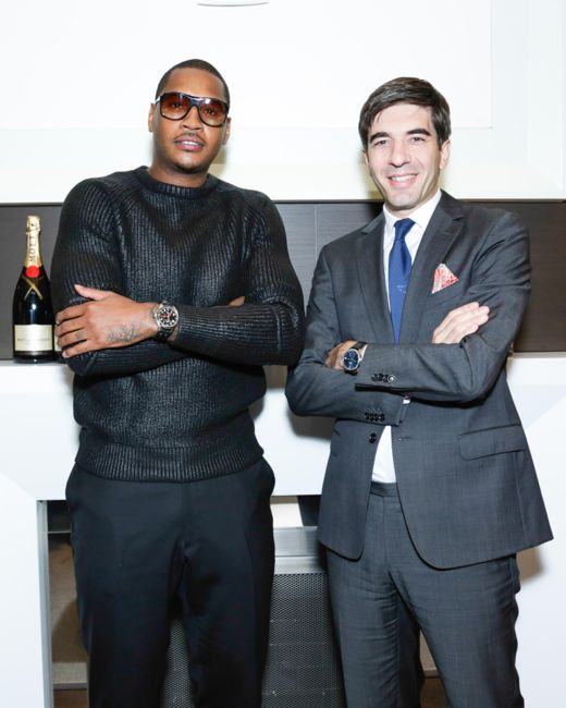 IWC Celebrates Carmelo Anthony as New Friend of the Brand