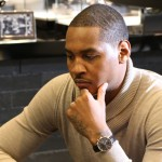 Carmelo Anthony Keeps Time with IWC Schaffhausen (Pics)