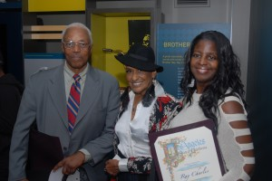 Motown arranger Paul Riser, Raenee Robinson (Ray Charles' daughter), Cleo Hill Jackson (Motown Fashion Designer)