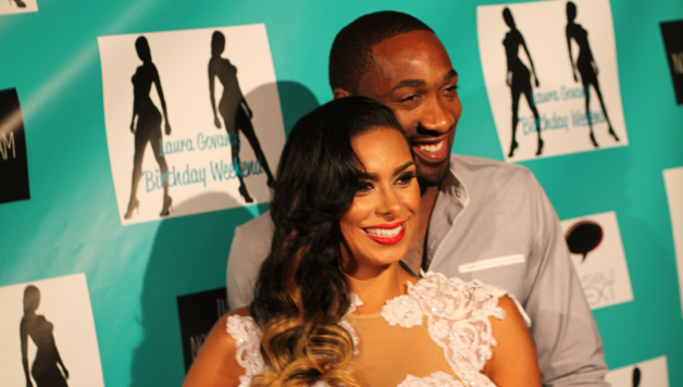 Laura Govan and Gilbert Arenas