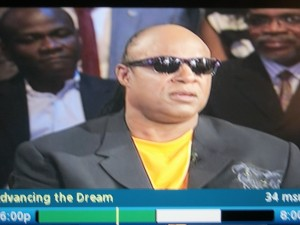 "Stevie Wonder ""Advancing the Dream"""