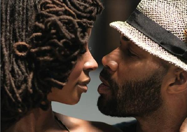 "Shanola Hampton as ""Kal"" and Omari Hardwick as ""Curtis Jackson"" show actions can speak much louder than words in 'Things Never Said'"