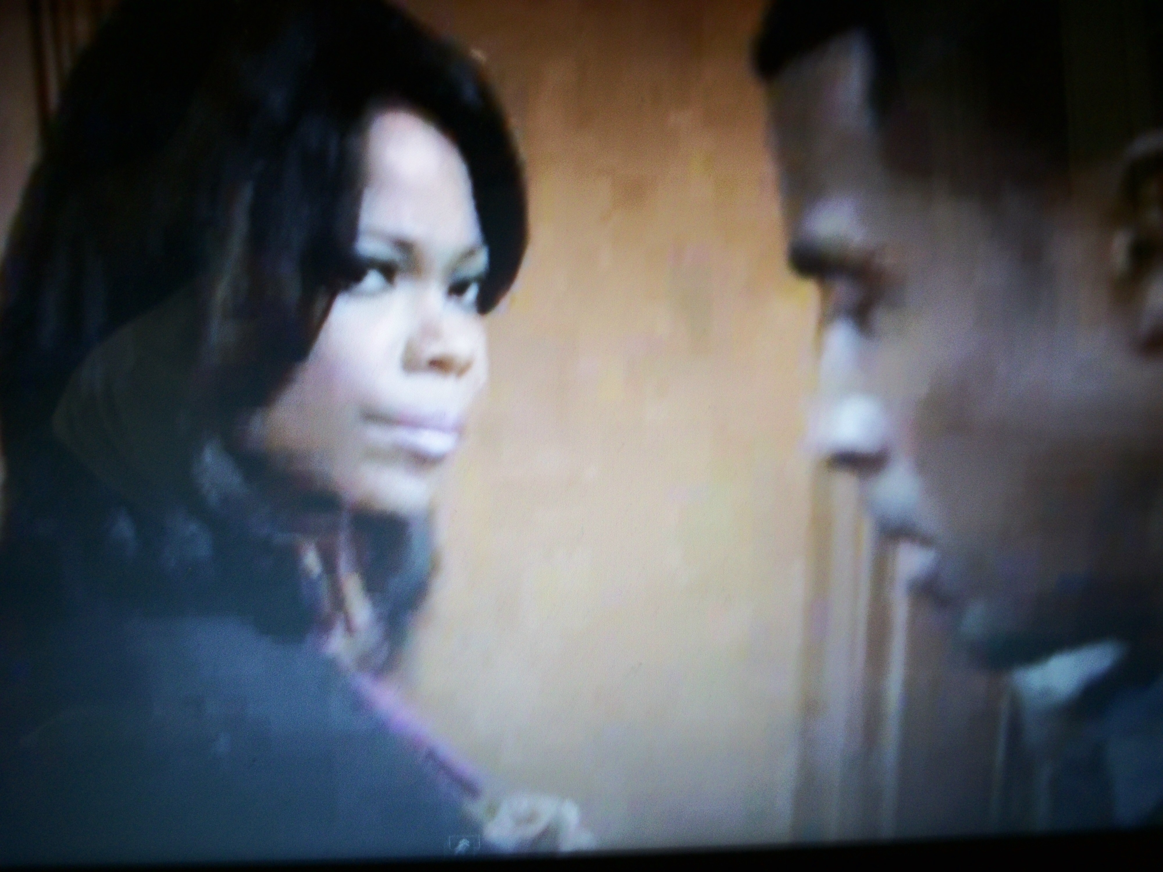 Veronica (Angela Robinson) and Jeffrey (Gavin Houston)