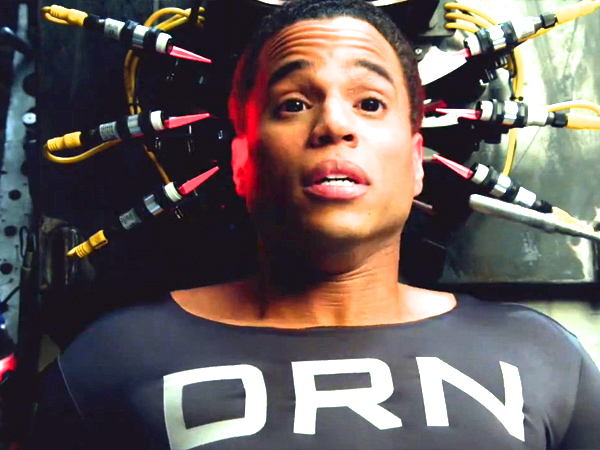 "Michael Ealy as android cop DRN (Dorian) in Fox's ""Almost Human"""