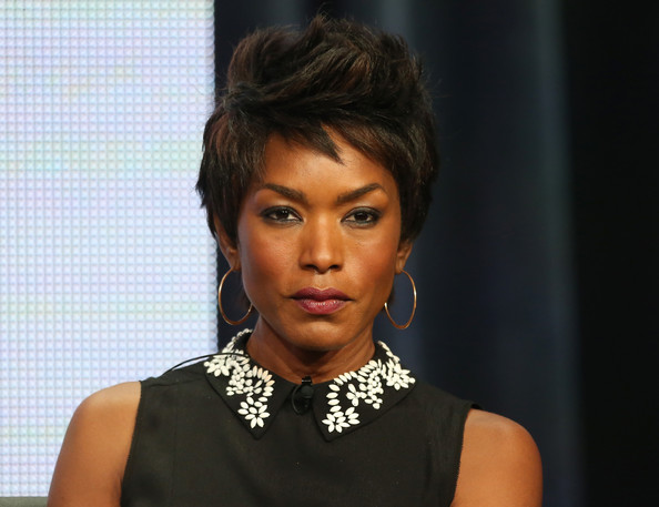 "Actress Angela Bassett speaks onstage during the ""American Horror Story: Coven"" panel discussion at the FX portion of the 2013 Summer Television Critics Association tour - Day 10 at The Beverly Hilton Hotel on August 2, 2013 in Beverly Hills"