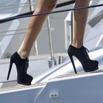 Beyonce, Her Stilettos and Blue Ivy Board Yacht in Ibiza (Pics)