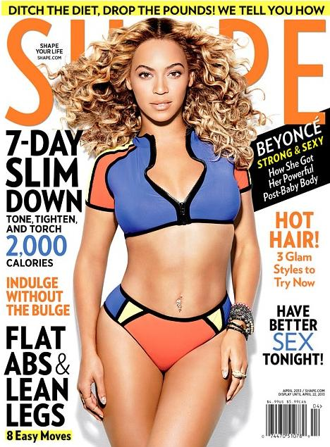 beyonce (shape mag. cover)