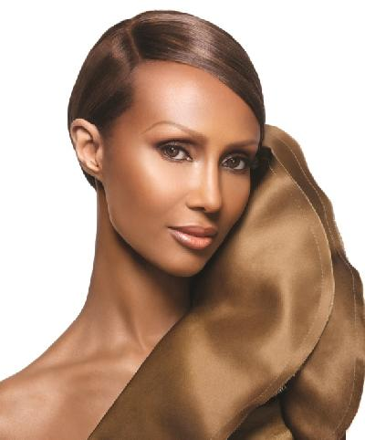 IMAN, CEO & Founder of Iman Cosmetics, Skincare & Fragrances
