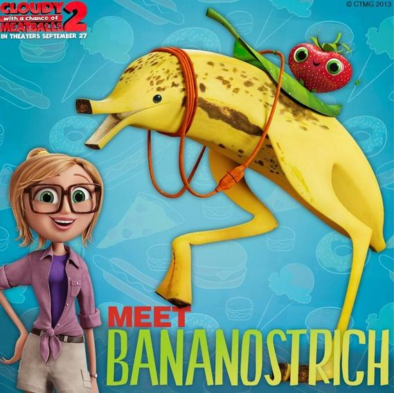 cloudy with meatballs 2 - bananostrich