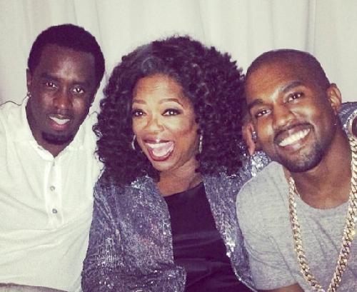 diddy oprah & kanye