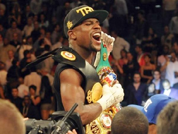 floyd mayweather jr (after canelo fight)