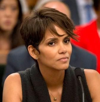 halle berry (at govt hearing)