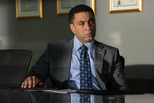 "Harry Lennix as FBI Assistant Director Harold Cooper on NBC's ""The Blacklist"""