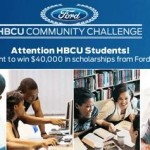 2013 Ford HBCU Community Challenge to Give Away $40k in Scholarships to Black College Students