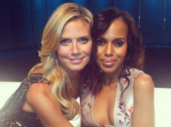 heidi klum & kerry washington