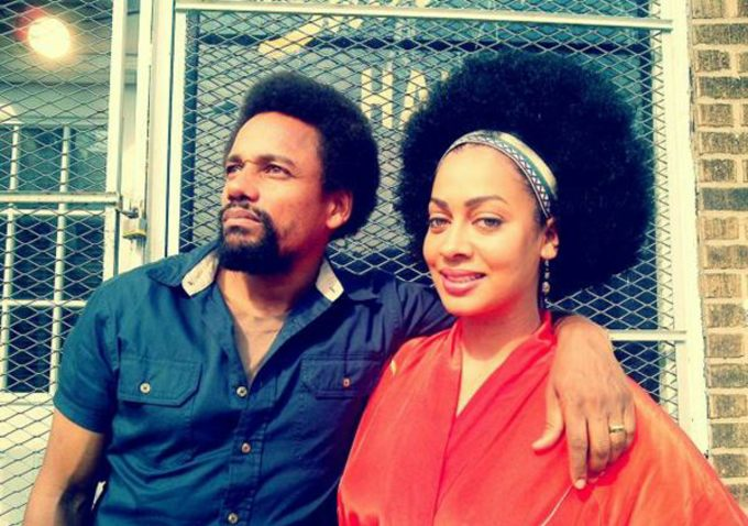 "Hill Harper and Lala Anthony in ""1982"""