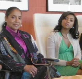 Phylicia Rashad &Taraji P. Henson