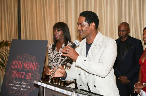 Blair Underwood at ICON MANN