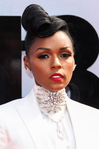 Janelle Monae attends 2013 BET Awards at Nokia Plaza L.A. LIVE in Los Angeles. (June 30, 2013)
