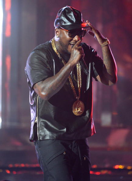 Recording artist Young Jeezy performs onstage during the 2013 BET Awards at Nokia Theatre L.A. Live on June 30, 2013 in Los Angeles