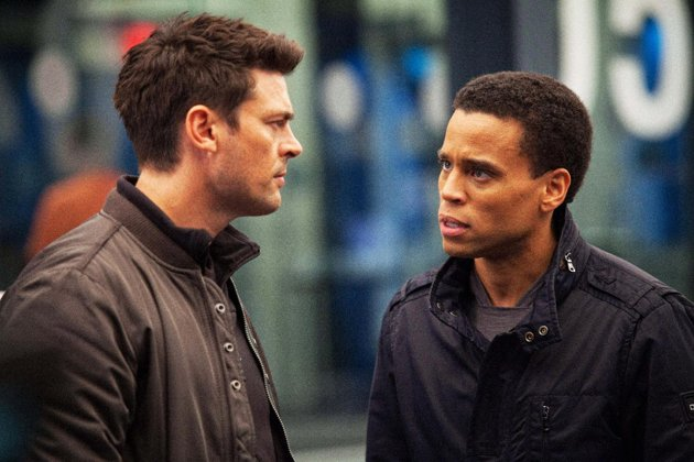 "Karl Urban, Michael Ealy in Fox's ""Almost Human"""