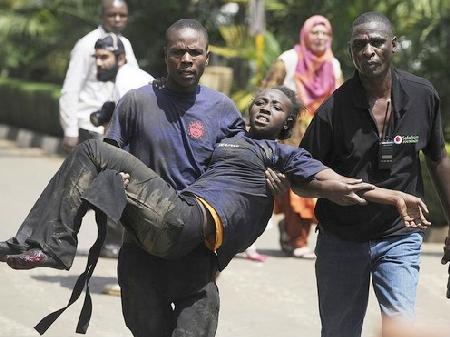 kenya mall shooting victim