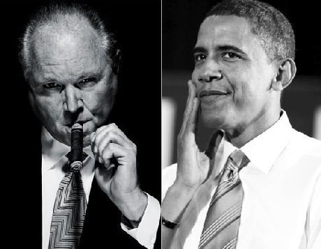 limbaugh & obama