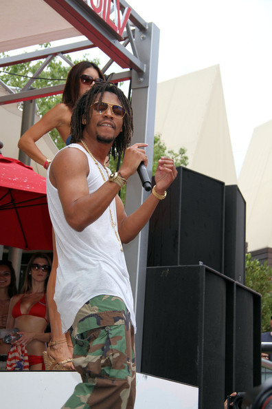 Rapper Lupe Fiasco performs at 'Ditch Fridays' at the Palms Casino Resort in Las Vegas. (August 23, 2013)