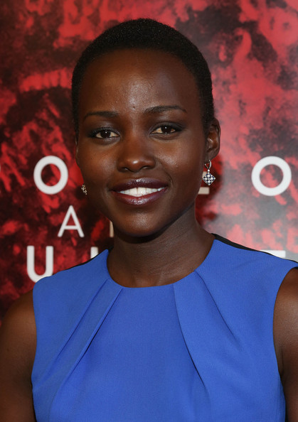 "Lupita Nyong'o attends ""Shakespeare's Romeo And Juliet"" Broadway opening night at The Richard Rogers Theater on September 19, 2013 in New York City"