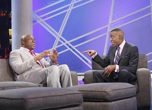 magic johnson & arsenio hall