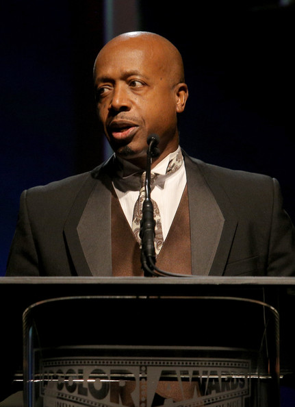 MC Hammer speaks on stage at the ADCOLOR Awards at The Beverly Hilton Hotel on September 21, 2013 in Beverly Hills