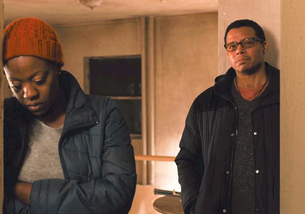"""Viola Davis, Terrence Howard in a scene from """"Prisoners"""""""