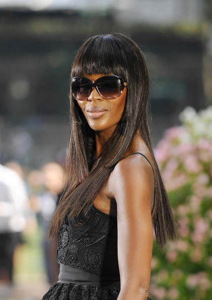 Model Naomi Campbell attends 'The Face' Season 2 Pop-Up Fashion Show' at Bryant Park in New York. (September 11, 2013)